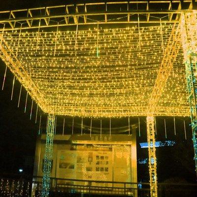 led彩燈閃燈串燈滿天星燈節日裝飾燈攝影圣誕樹小星星燈婚慶戶外
