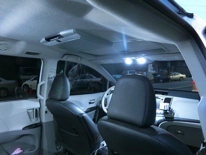 ◇光速LED精品◇TOYOTA SIENNA 全車室內燈 穩壓IC  防餘光 白光 直購1200元