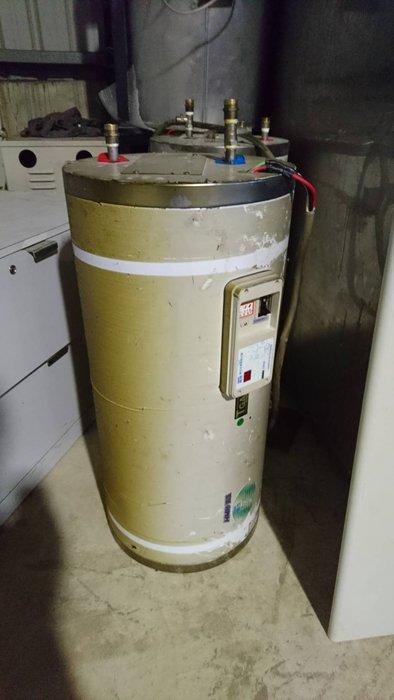㊖華威搬家=更新二手㊖二手鴻茂數位電熱水器EH-2001S 不銹鋼電能80公升熱水器20加侖