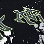 【MASS】ON-AIR 19 F/W 3M LOGO SPLASH PAINT HOODIE 黑色 M L