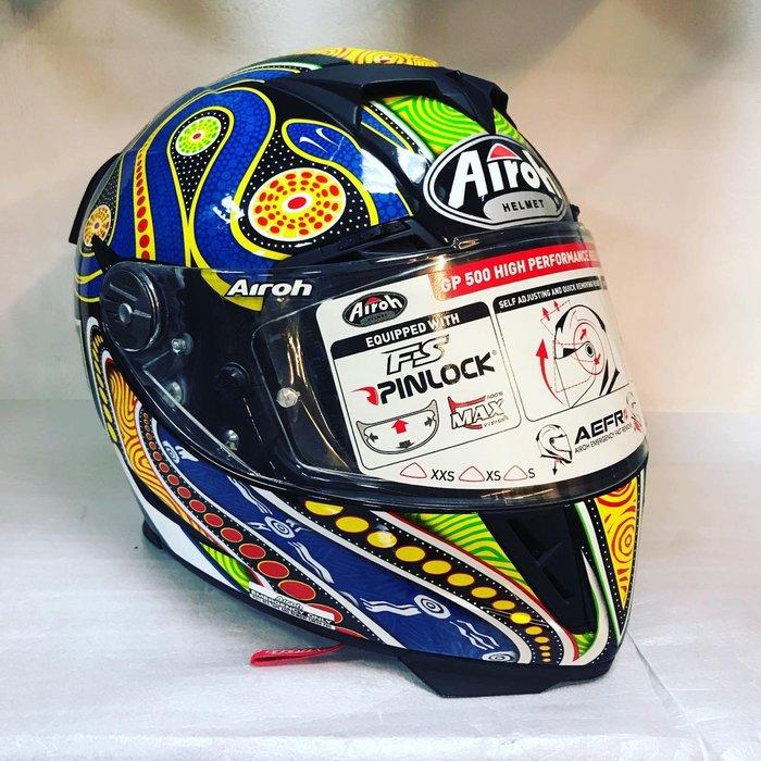 大里moto2輪館 義大利🇮🇹Airoh GP500選手帽(XL)