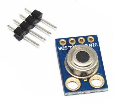 MLX90614 非接觸式 紅外測溫傳感器模塊 iic接口 GY-906