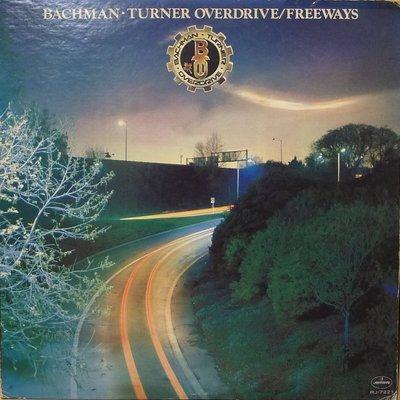 §小宋唱片§ 日版/Bachman - Turner Overdrive/Freeways/二手西洋黑膠