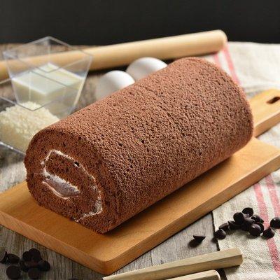 💗無添加☆無麩質💗{ 恬米屋 } - 可可卡士達米蛋糕捲