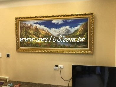 五財入庫大油畫