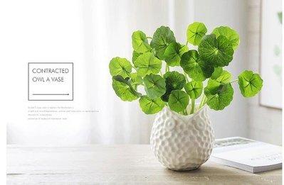 花瓶-家居客廳陶瓷花瓶擺件餐桌檯面小清新插花花瓶創意簡約裝飾小花器【巴黎春天】