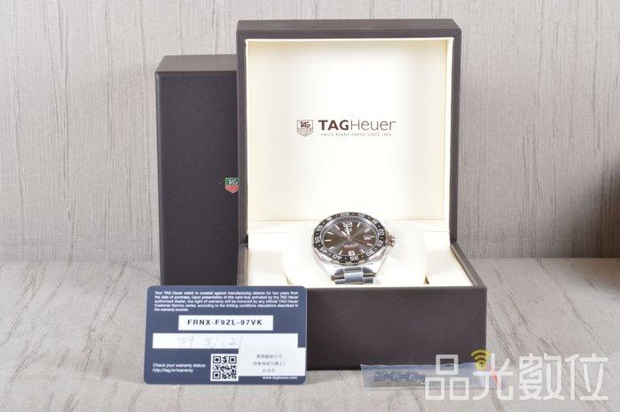 【品光數位】TAGHEUER 豪雅 F1系列 自動上鍊 WAZ2011.BA0842 灰 機械錶  #99270