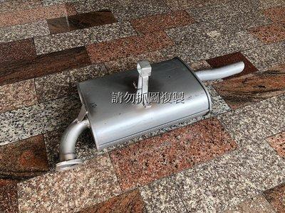 豐田 GOA COROLLA 98-00 全新 尾段 排氣管 消音器 / 另有中段 前段