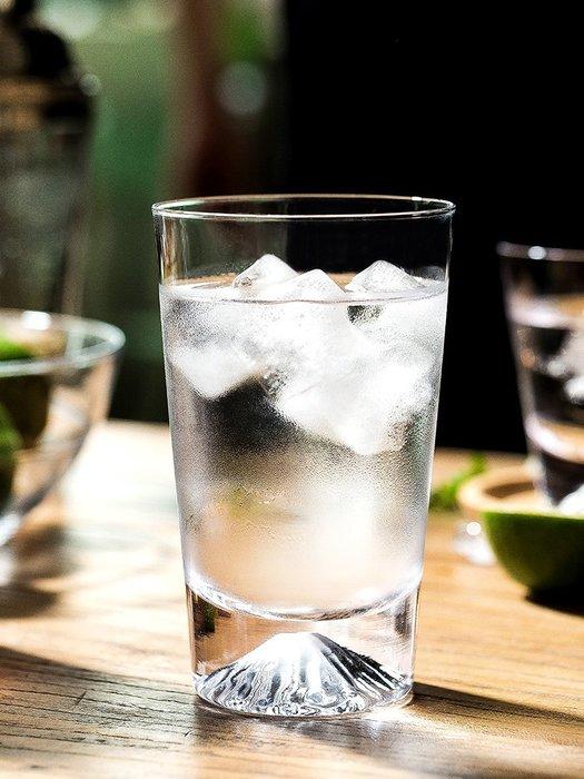 SX千貨鋪-雪花磨砂水晶玻璃威士忌雞尾酒杯冷飲果汁杯富士山洋酒杯#玻璃杯#酒杯#水杯#茶杯#杯子套裝