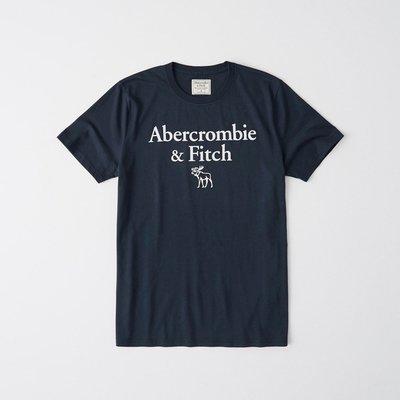 T【A&F男生館】☆【Abercrombie&Fitch麋鹿LOGO印圖短袖T恤】☆【AF008W3】(S)原價799 彰化縣