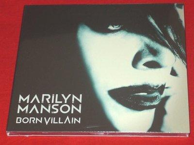 正版CD《瑪莉蓮曼森 》壞胚子/ Marilyn Manson Born Villain 全新未拆