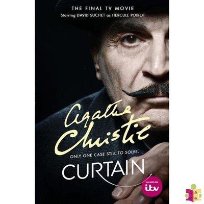 [文閲原版]阿加莎系列 幕后黑手 電視配套版 Poirot CURTAIN Poirots Last Case [TV