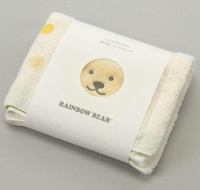 天使熊雜貨小舖~日本帶回RAINBOW BEAR彩虹熊棉花糖 今治長毛巾  全新現貨