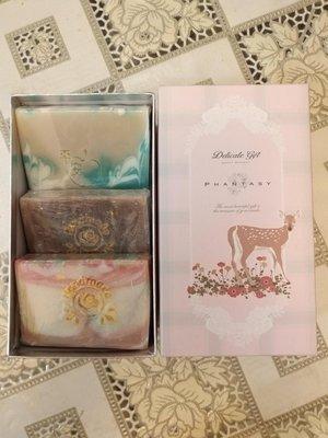 ※葆羅手作坊※手工皂禮盒/三入裝/100克三入/