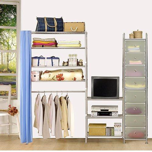 【中華批發網DIY家具】D-64-23-W4型90+60+pp電視衣櫥置物櫃-(前罩)不織布