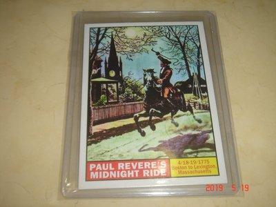 美國職棒 歷史事件 Paul Revere Midnight Ride 09 Topps Heritage 球員卡