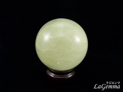 【寶峻鹽燈】特價~招財開運風水球~天然黃冰洲球/黃冰晶球~BB-509 / 7.2cm, 開運擺飾 財富加倍