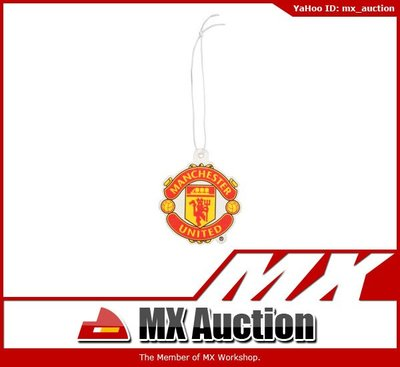 MX Auction - [VG-003] MANCHESTER UNITED 曼聯 汽車香薰吊卡 Manutd Car Air Freshener (紅色)