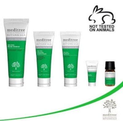 Meditree Tea Tree Facial Cleanse澳大利亞 天然純植物 茶樹油 洗面乳100g