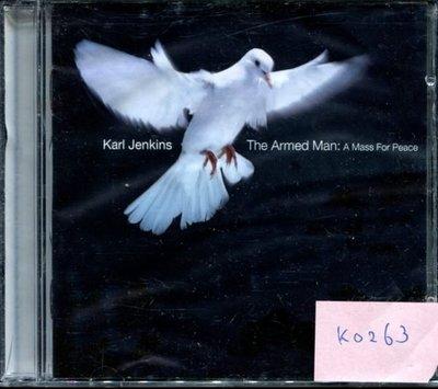 *真音樂* KARL JENKINS / THE ARMED 二手 K0263(封面底破) (清倉.下標賣3)