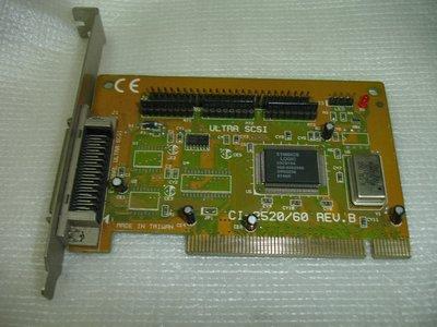 【電腦零件補給站 】Symbios Logic CI-2520/ 60 50Pin Ultra SCSI控制卡 新北市