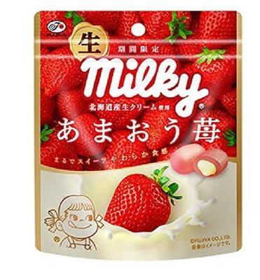 【東京速購】日本 冬季限定 不二家 煉乳夾心草莓牛奶糖🍓