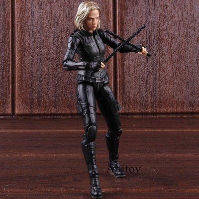 【德興】復仇者聯盟3 無限戰爭 SHF 黑寡婦 Black Widow 可動可換臉 手辦模型