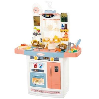 積木城堡 迷你廚房 早教益智兒童過家家仿真廚房玩具套裝炒菜煮飯女孩8女童做飯燒飯3-4-5-6歲