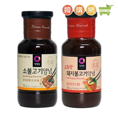 韓國DAESANG大象醃烤肉醬280g(原味/辣味)【韓購網】