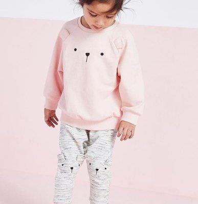 ❤現貨C229❤歐美風中小童裝秋季 兒童套裝女童寶寶 歐美衛衣長袖衣+長褲兩件套套裝