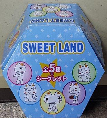 BANDAI SWEET LAND TORO INOUE 井上多樂 多樂貓 多羅貓 盒蛋 (BUY-34057-CW)