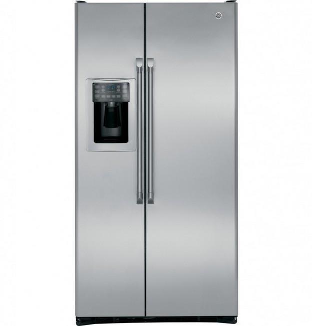 唯鼎國際【GE美國奇異冰箱】GZS22DSJSS 不鏽鋼薄型對開冰箱製冰機702L