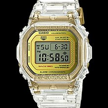 Casio G-shock 35週年 DW-5035E-7DR DW-5000 透明 made in Japan