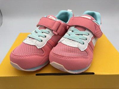 《日本Moonstar》休閒布鞋 HI系列機能款-玫瑰粉(14-21.0cm)M2121S24 19FW
