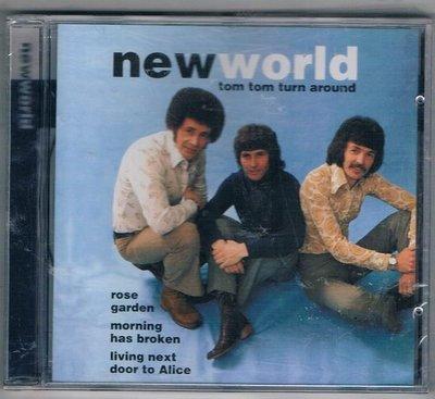 [鑫隆音樂]西洋CD-NEW EORLD/ tom tom turn around  {DC865712} 全新/免競標