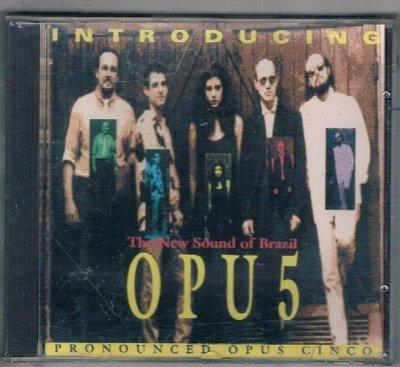 [鑫隆音樂]西洋CD-INTRODUCING OPU 5 {SXCD`002} /全新/免競標