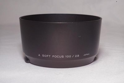 原廠 Minolta SOFT FOCUS 100mm F2.8 遮光罩