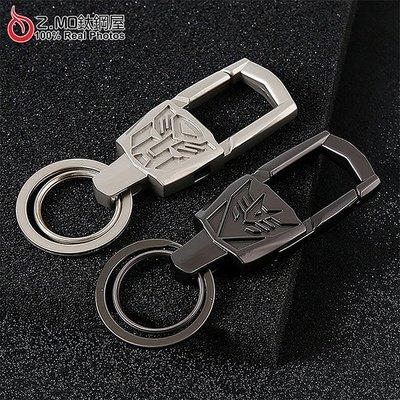 金剛頭鑰匙圈 汽車鑰匙圈 腰掛 皮帶扣 生日禮物 皮革材質 單個價【KLA042】Z.MO鈦鋼屋