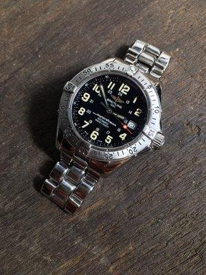 百年靈 超級海洋潛水機械錶 Breitling superocean 1000M  A17340