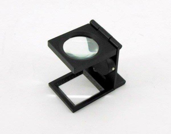 【買家購】新摺疊式附燈照布鏡~白光LED,可折疊易攜帶.附收納套~