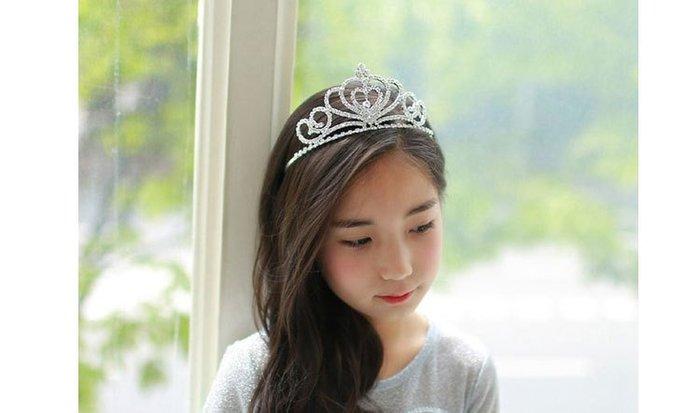 【衣Qbaby】女童頭飾水鑽公主髮箍 多款