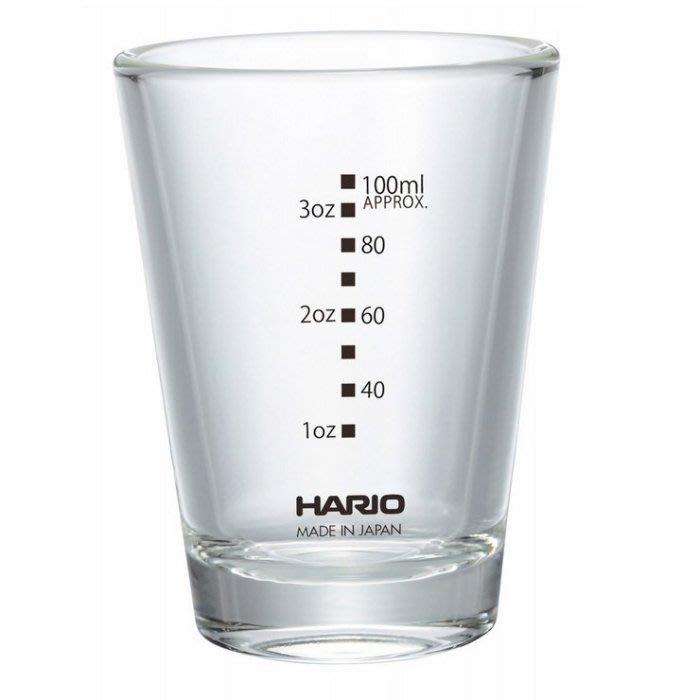 【多塔咖啡】日本製 HARIO SGS-140B-EX 附刻度 盎司杯  加厚玻璃盎司杯 杯體玻璃厚度9mm 義式濃縮杯