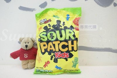【Sunny Buy】◎現貨◎ Sour patch kids小屁孩 小酸人 小鬼頭 酸味軟糖