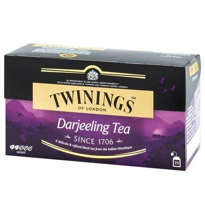 ~* 品味人生  *~英國 唐寧茶【Twinings】歐式大吉嶺茶(2gx25入茶包)