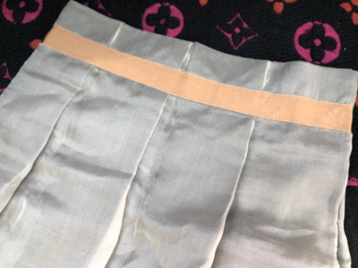 原價兩萬多 SCHUMACHER 灰綠色純絲紗裙