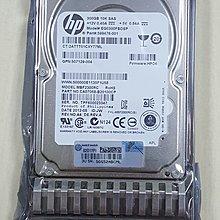 全新未使用静電袋己拆封HP伺服器用 DL380 G5 G6 300G 10K SAS 2.5吋硬碟 507129-004
