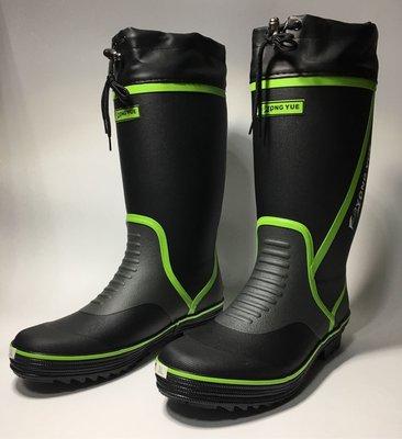 【KPD SHOP】橡膠長筒防滑雨鞋(超輕量化橡膠材質) 釣魚 磯釣釘鞋 溯溪鞋 防滑釘鞋 潛水鞋 浮潛鞋 雨鞋 雨靴