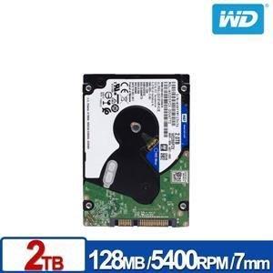 @電子街3C特賣會@全新公司貨 WD WD20SPZX 藍標 2TB 2T (7mm) 2.5吋硬碟