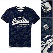 絕版款 跩狗嚴選 極度乾燥 Superdry Hawaii T-Shirt T恤 夏威夷 短袖 上衣 復古 印花 A&F
