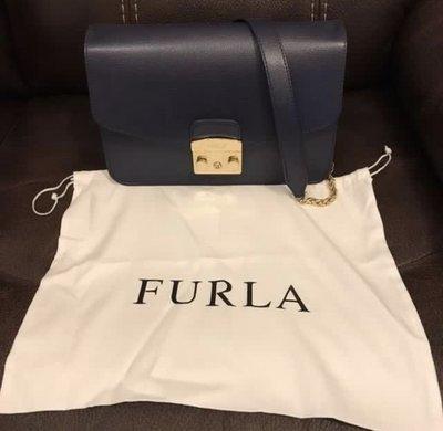 Furla Metropolis Bag(Navy)